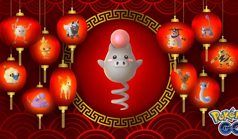 Pokémon GO Begins Lunar New Year Event