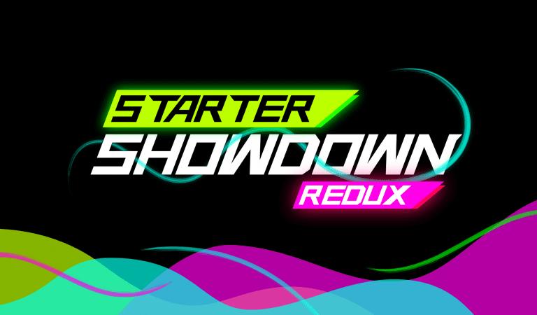 Starter Showdown Redux: Kanto I