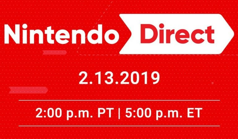 Nintendo Direct Announced for February 13
