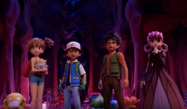 New Mewtwo Strikes Back EVOLUTION Reveals CGI Ash & Co