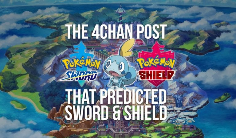 RUMOR: The 4chan Post that Predicted Sword & Shield
