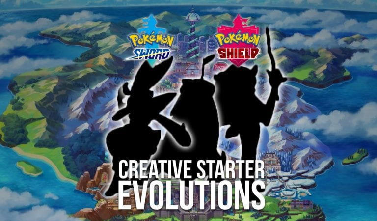 WTFake: Creepy, Creative Starter Evolutions of Galar