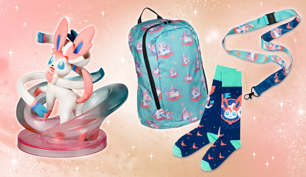 Pokémon Center Online Updates with Sylveon Items, More