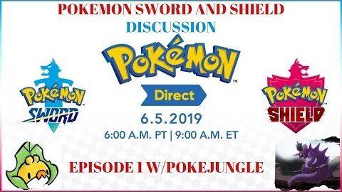 Pokemon Sword and Shield Discussion + Predictions | w/ PokéJungle