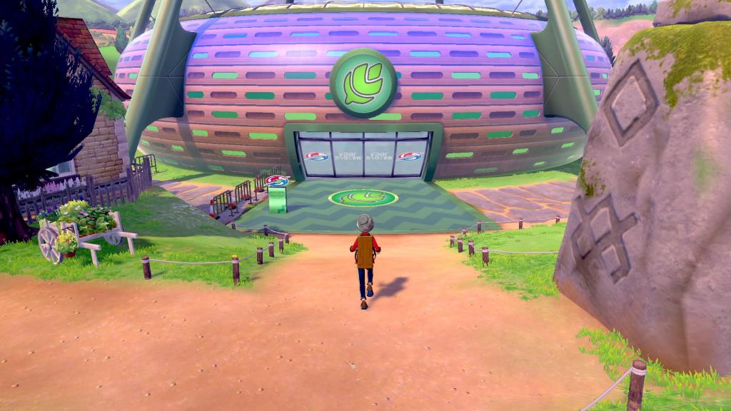 Pokémon Sword & Shield building