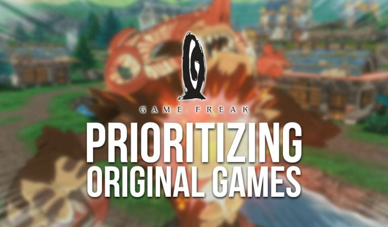 Game Freak Prioritizing Original Games Over Pokémon