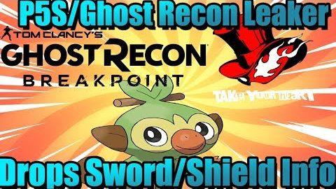 Persona5s/Ghost Recon Leaker Drops Sword/Shield Info