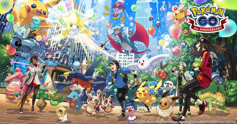 Pokémon GO 3rd Anniversary
