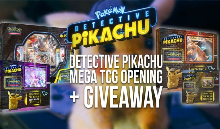Detective Pikachu TCG Opening Extravaganza + Giveaway