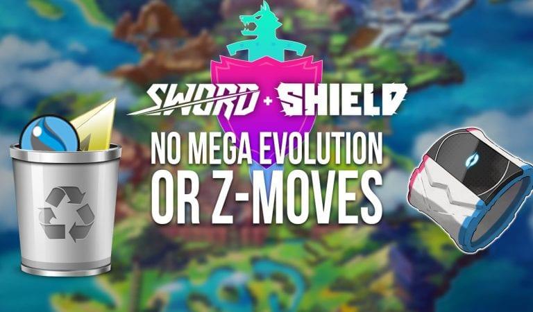 Pokémon Sword & Shield Won't Include Mega Evolutions or Z-Moves