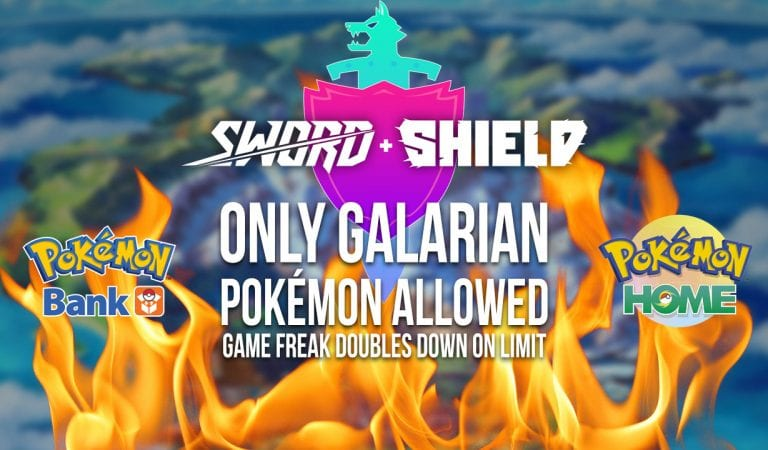 Game Freak Reconfirms Pokémon Not Found in Galar Can't Come to Sword & Shield