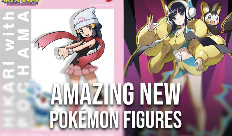 Kotobukiya Reveals Two Stunning Pokémon Figures