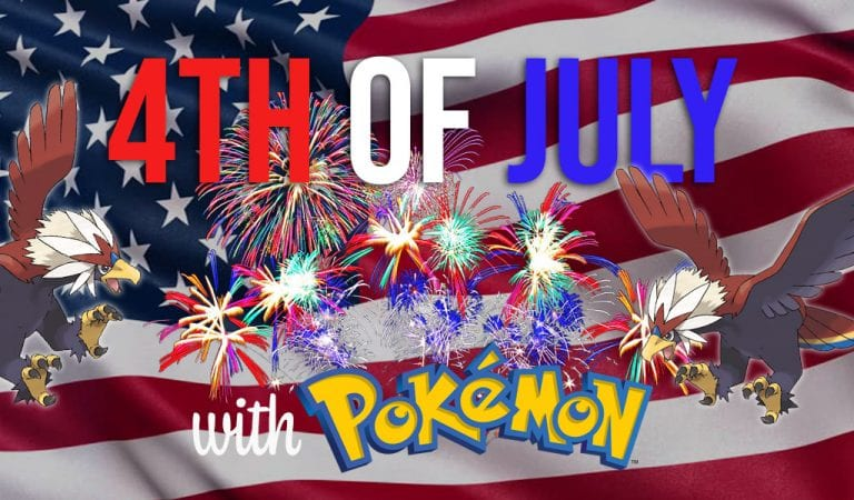 Top 10 Pokémon to Bring to a 4th of July Party