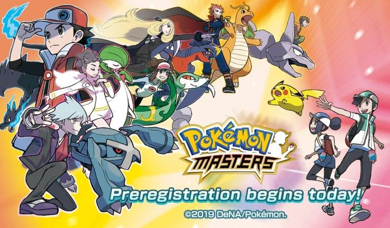 Pokémon Masters Pre-Registration Now Open