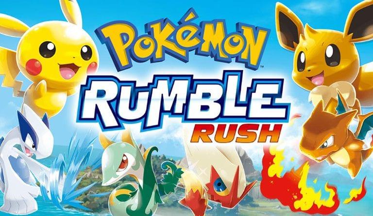 Pokémon Rumble Rush Now Available on iOS