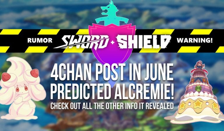 RUMOR: This 4chan Post Predicted Alcremie—And More!