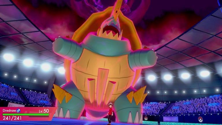 Gigantamax Pokémon in battle