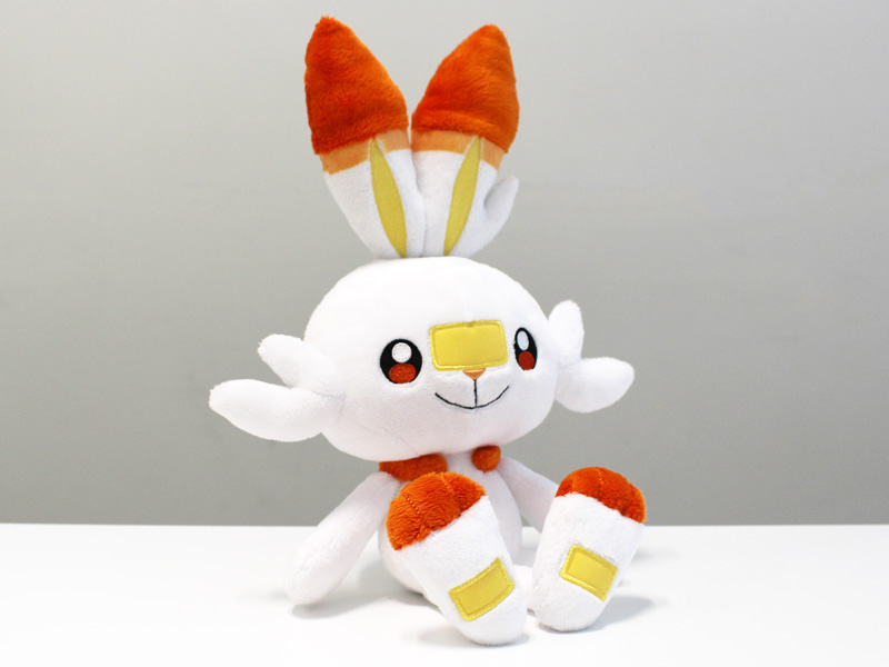 Official Scorbunny plushie