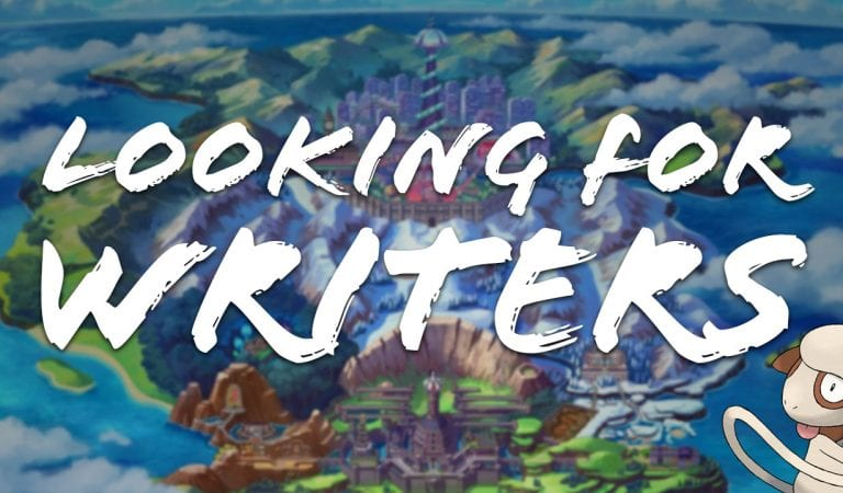 Looking for Writers, 2019 Edition