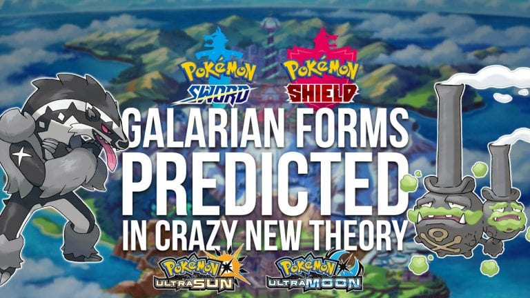 Were Hints at Galarian Forms Hidden in Ultra Sun & Ultra
