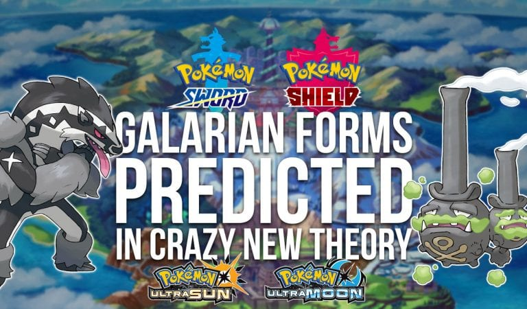 Were Hints at Galarian Forms Hidden in Ultra Sun & Ultra Moon?