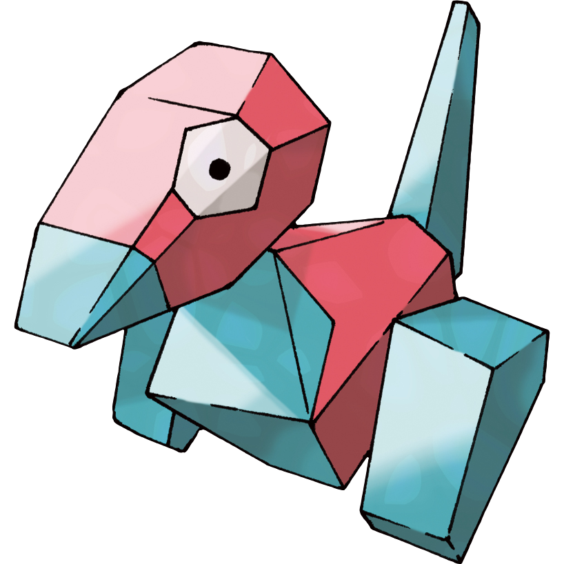 Porygon official art