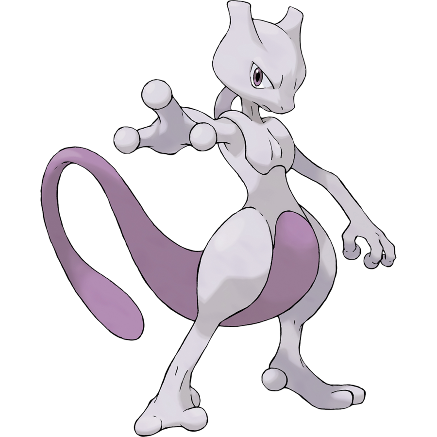 Mewtwo official art