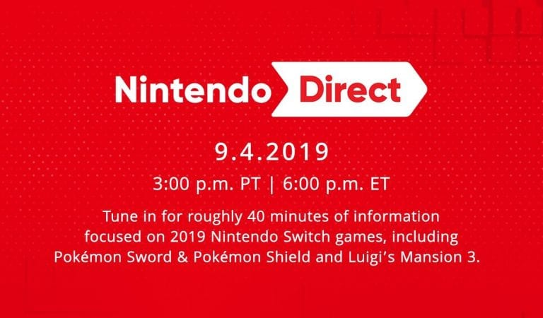 New Pokemon News via Nintendo Direct 9.4.2019!