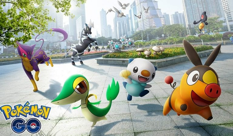 Unova Pokémon Arrive in Pokémon GO!