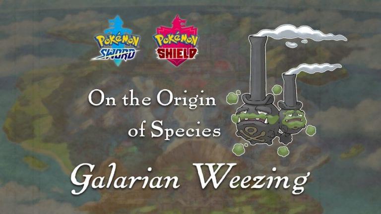 The origins of Galarian Weezing's design