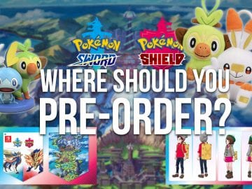 where should you pre-order Pokémon Sword & Shield