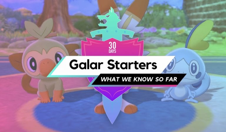 The Galar Starters: What We Know So Far