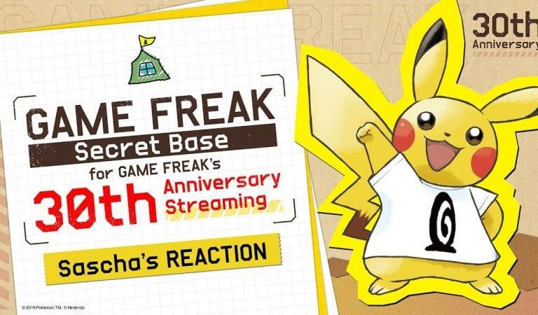 Game Freak 30th Anniversary Stream