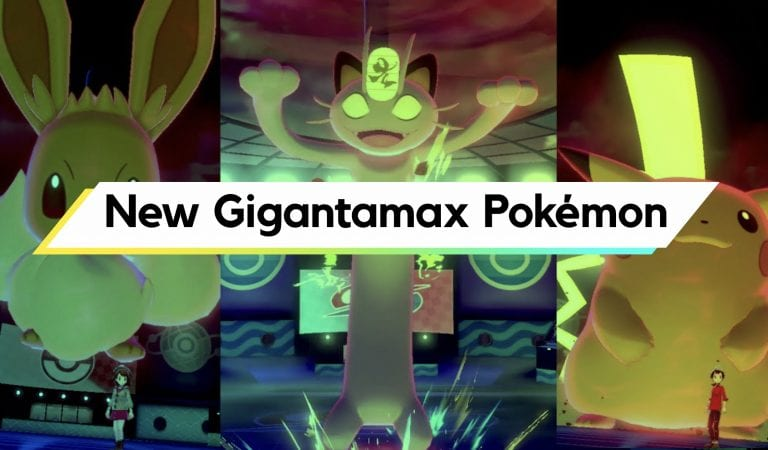 New Gigantamax Pokémon Announced for Sword & Shield