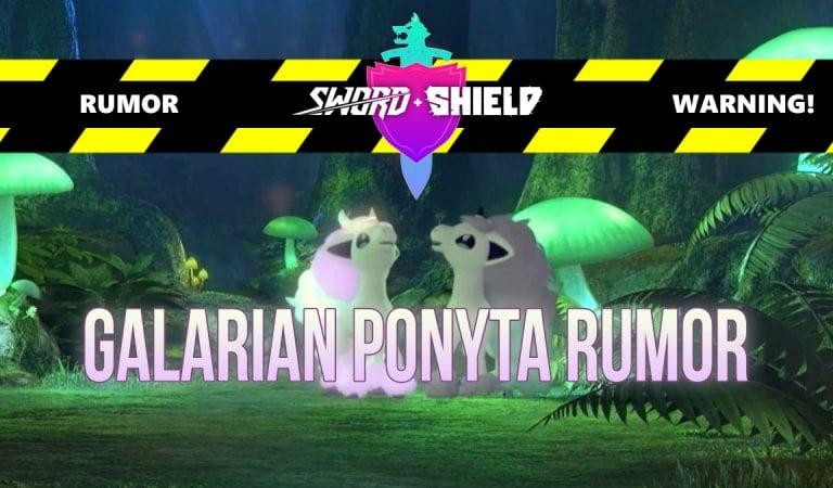 RUMOR: Galarian Ponyta was predicted in post last month