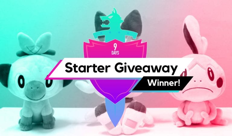Starter Giveaway Winner!