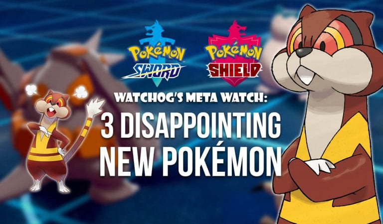 Watchog's Meta Watch: Top Three Disappointing Sword & Shield Pokémon